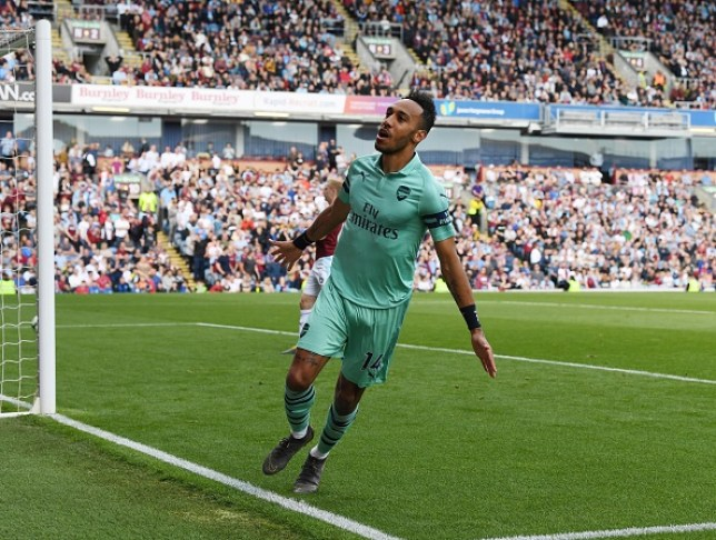 Pierre-Emerick Aubameyang won the Premier League Golden Boot in his first full season in English football