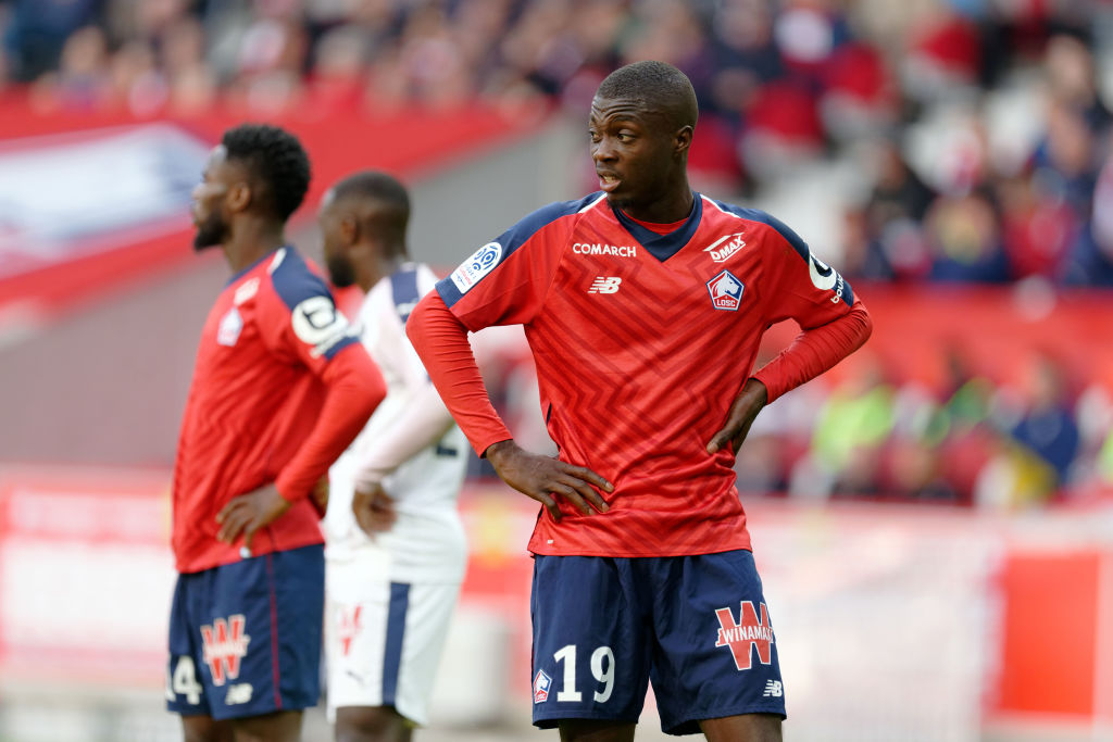 Manchester United are in talks to sign Arsenal and Liverpool target Nicolas Pepe