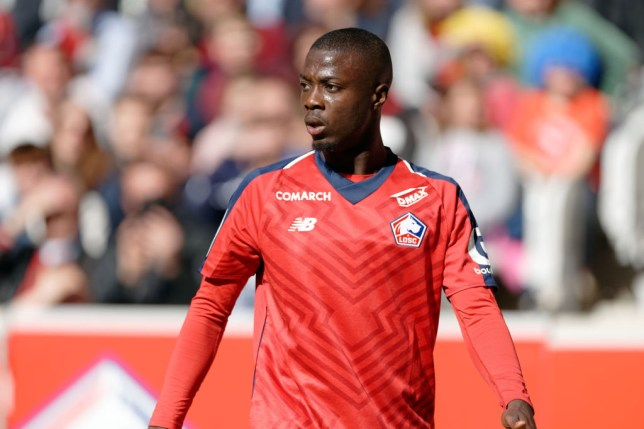 Manchester United are confident of beating Arsenal and Liverpool to Nicolas Pepe