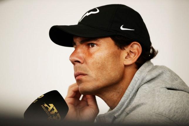 Nick Kyrgios has taken aim at 'super salty' Rafael Nadal