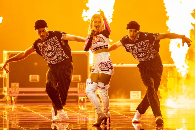 ZENA performs for Belarus at Eurovision