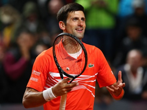 Novak Djokovic gives blunt response to Nick Kyrgios and Roger Federer questions