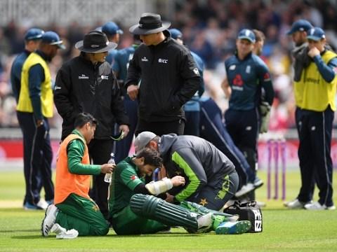 Pakistan issue Imam-ul-Haq injury update after sickening blow in England ODI