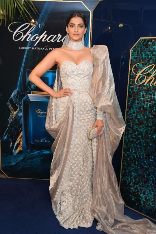Sonam Kapoor in Cannes-Sex toys store
