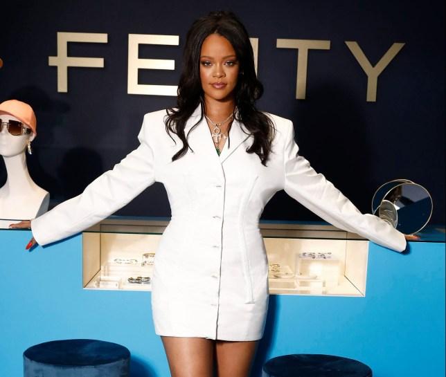 Rihanna launches Fenty in Paris