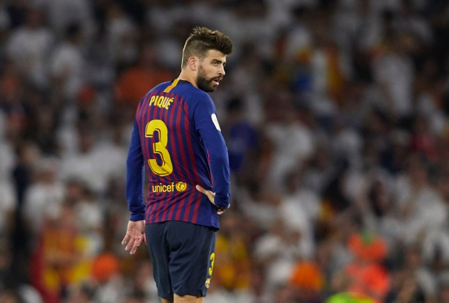 Gerard Pique admits the loss to Liverpool had a big effect on Barcelona's season