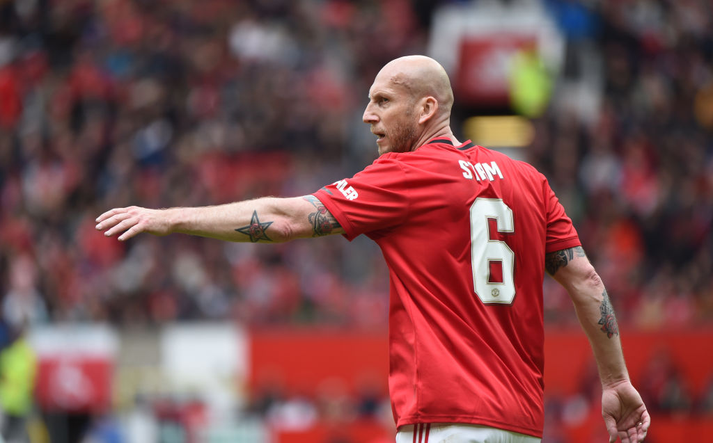 Jaap Stam took partial in Manchester United's 1999 Treble Union gift diversion during Old Trafford