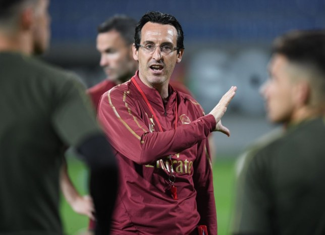 Unai Emery reveals conversation with Petr Cech ahead of Europa League final
