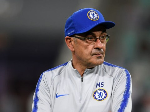 Maurizio Sarri livid after Chelsea are denied chance to practice set-pieces before Europa League final
