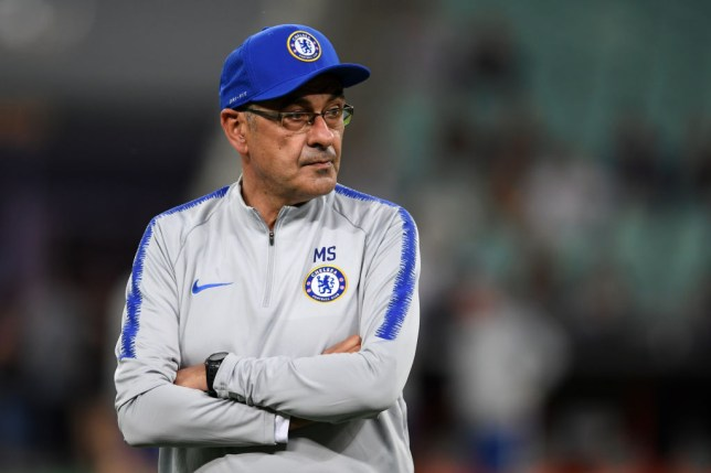 The real reason Maurizio Sarri stormed off during Chelsea training session