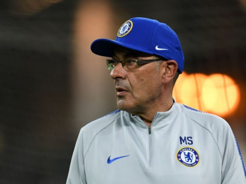 Juventus chief Andrea Agnelli 'greets' Maurizio Sarri on morning of Europa League final