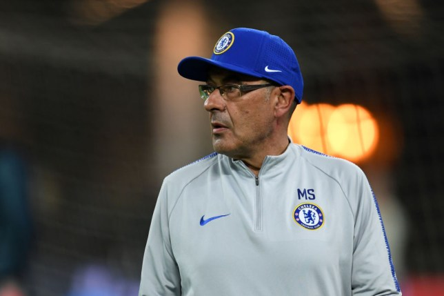 Maurizio Sarri meets with Juventus chief on morning of Europa League final