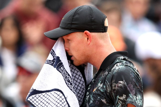 Kyle Edmund speaks out after withdrawing from French Open due to knee injury
