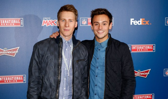 Tom Daley and Dustin Lance Black 'considering adoption for second baby'