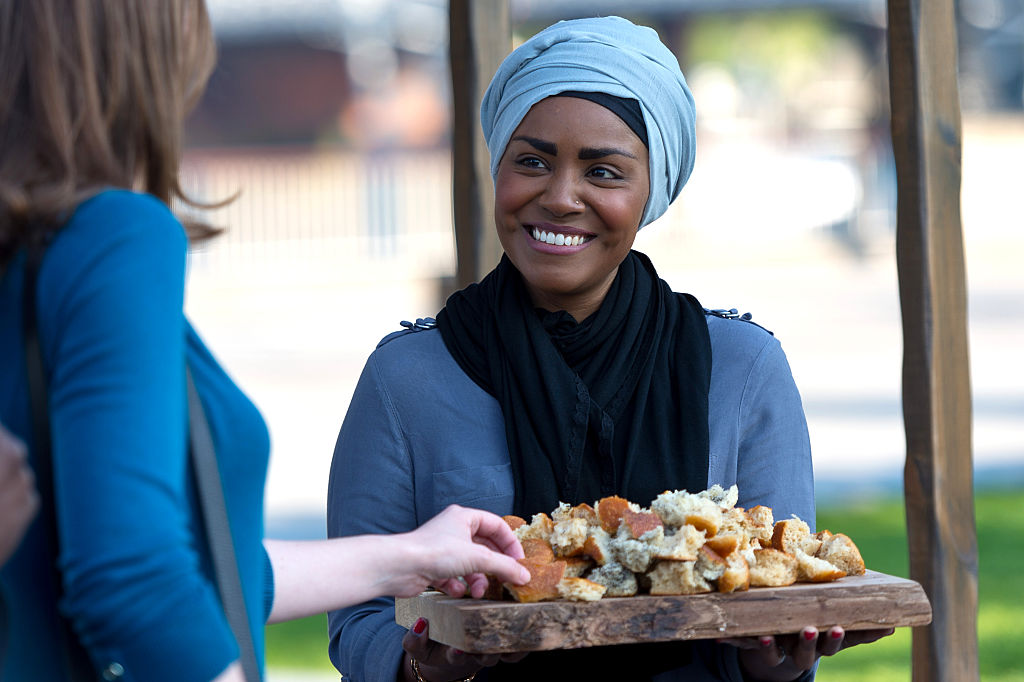 Nadiya Hussain from The Great British Bake Off