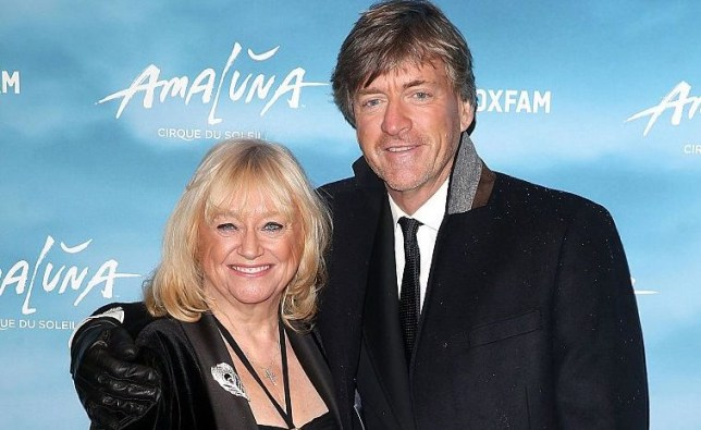 Judi Finnigan and Richard Madeley