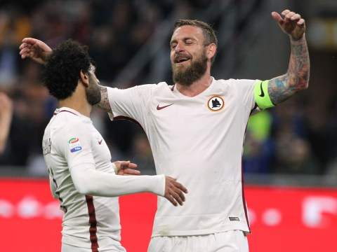 Mohamed Salah talks up possible Liverpool switch for Roma legend Daniele De Rossi
