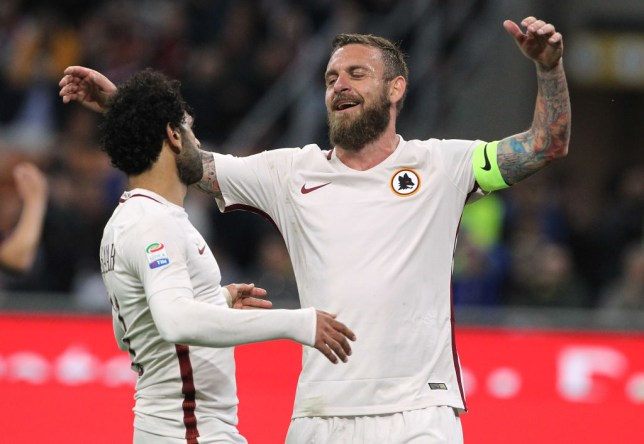 Mohamed Salah wants Daniele De Rossi