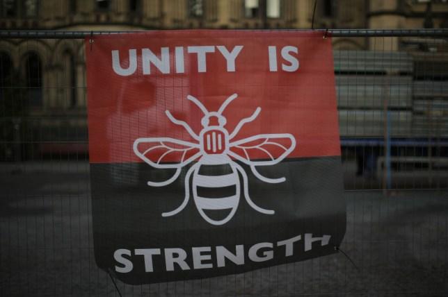 Manchester bee symbol