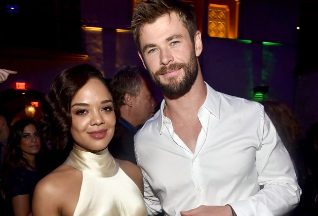 Tessa Thompson and Chris Hemsworth want to remake The Bodyguard and we're here for it