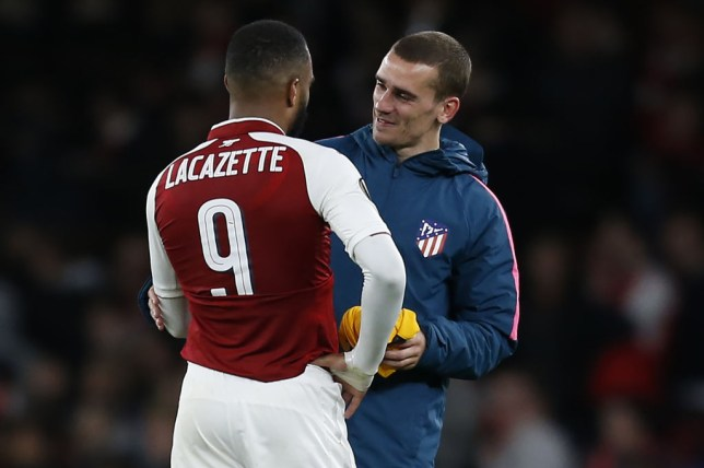Alexandre Lacazette has been linked with a summer transfer from Arsenal to Atletico Madrid