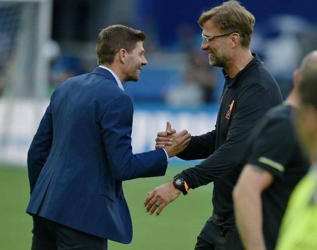 Steven Gerrard captained Liverpool's last Champions League winning side in 2005