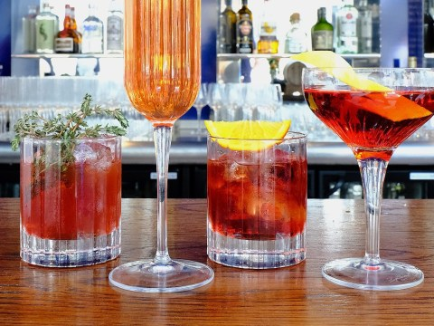 A floating Negroni bar on the Thames is launching next month