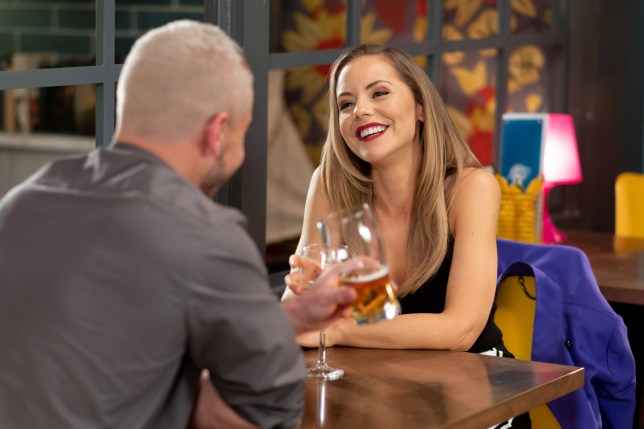 Joel and Cindy get on well in Hollyoaks