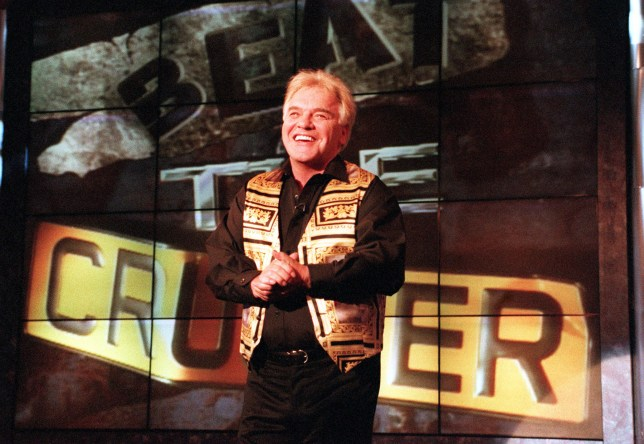 FREDDIE STARR IN HIS NEW TELEVISION SHOW BEAT THE CRUSHER