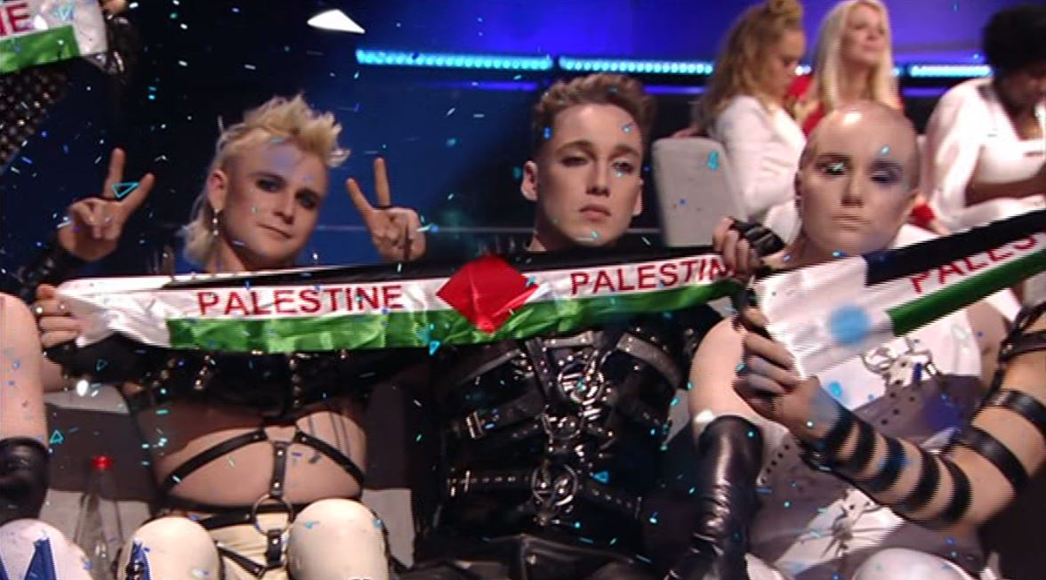 Iceland use Eurovision Song Contest to protest against the Israeli occupation of Palestinian territories
