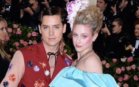 How long have Cole Sprouse and Lili Reinhart been together and why have they split up?