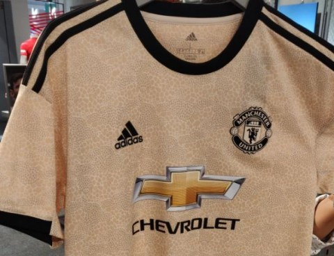 sale retailer 129d2 1bb26 Man Utd's new 'snakeskin' Adidas away shirt leaked – and ...