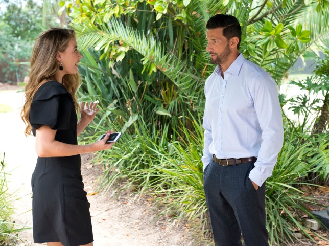 Chloe and Pierce in Neighbours