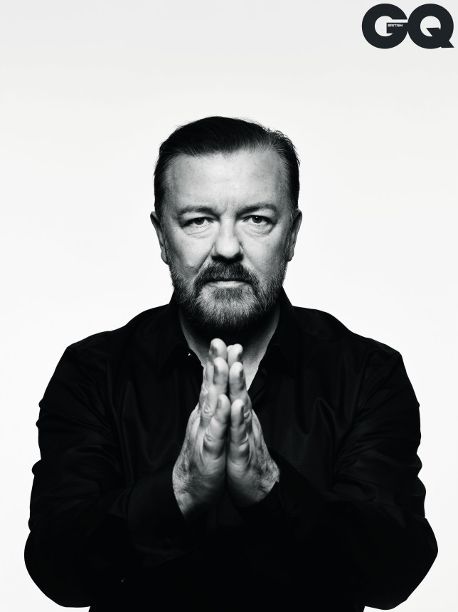 Ricky Gervais in GQ