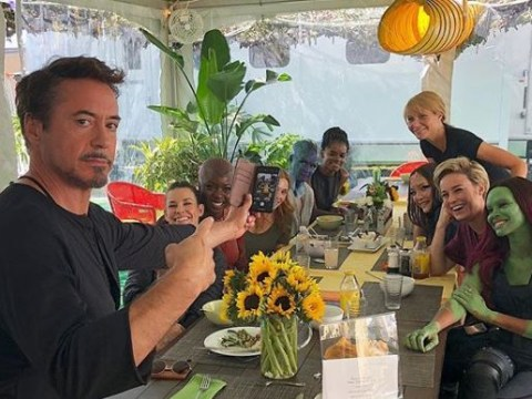 Robert Downey Jr hosts special 'girl power' lunch for the ladies of the MCU