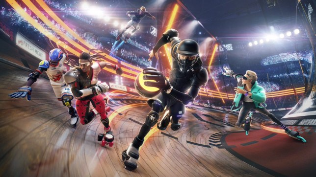 Roller Champions - Ubisoft's answer to Rocket League?