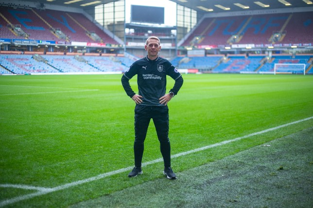 Scott Cunliffe who ran to every Burnley FC away game, totalling 3092 miles, as part of his RunAway Challenge