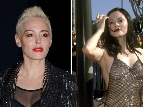 Rose McGowan's infamous naked VMAs dress was a response to sexual assault