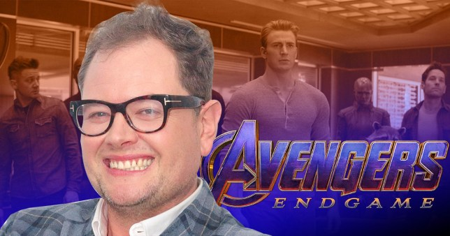 Alan Carr and Avengers Endgame poster