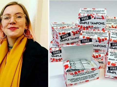University agrees to give out free sanitary products after student used own money to provide them