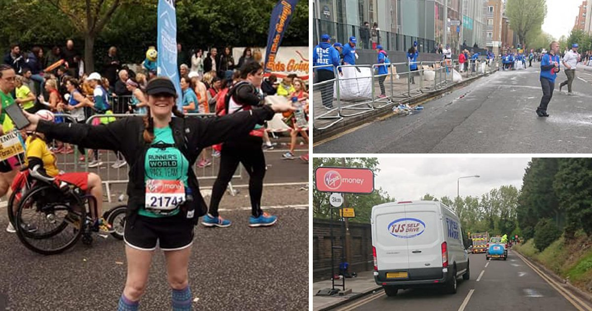 London Marathon cleaners accused of calling runners fat and slow