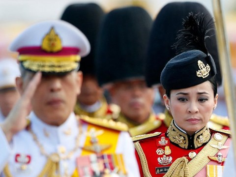 King of Thailand marries his security guard and makes her Queen