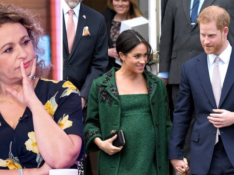 Nadia Sawalha slams Meghan Markle and Prince Harry for keeping royal baby news private: 'We paid for their wedding'