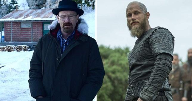 Walt in Breaking Bad and Ragnar in Vikings