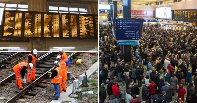 Transport hell as train bosses warn 'avoid travelling' this