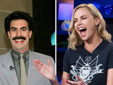 Charlize Theron laughed so hard during Borat that she was hospitalised for five days