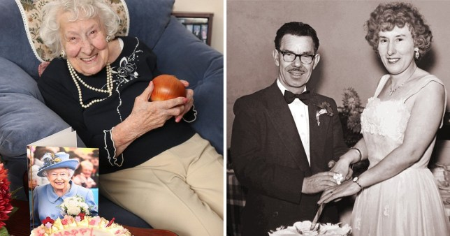 Daisy Bastin, 111, says the secret to long and happy life are loyal friends and onions (Picture: Jason Bryant/Apex)