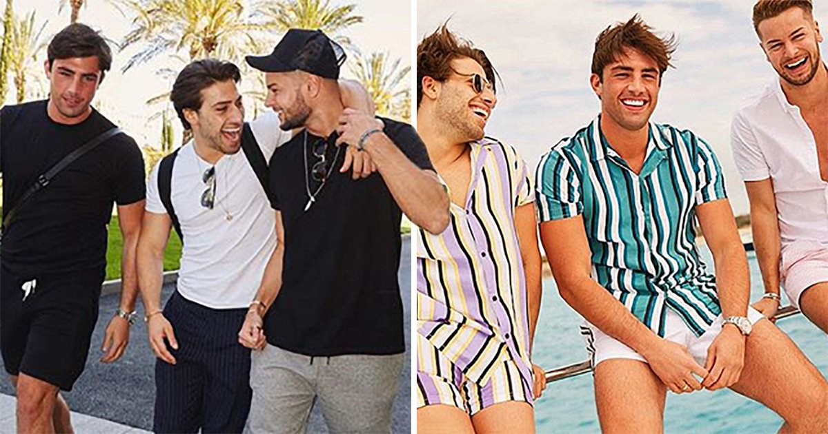 Jack Fincham enjoys Ibiza getaway with Love Island's Chris Hughes and Kem Cetinay after Dani Dyer split
