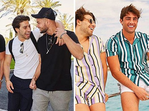 Jack Fincham enjoys Ibiza getaway with Love Island's Chris Hughes and Kem Cetinay after Dani Dyer split