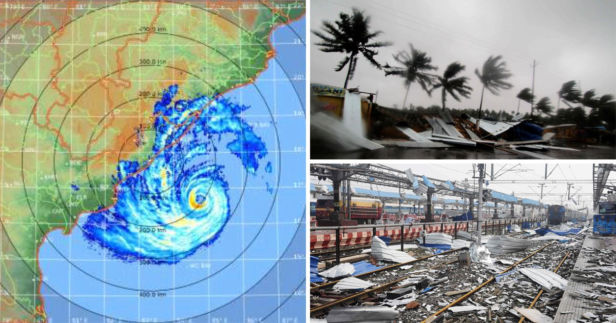 Killer Cyclone Fani is one of the worst storms in decade with wind speeds of 155mph